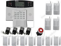 gsm sans fil système d alarme de sécurité à domicile intelligente
