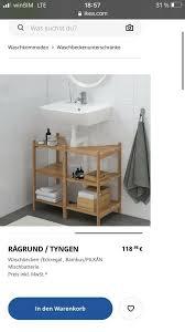 ikea ragrund badezimmer schrank