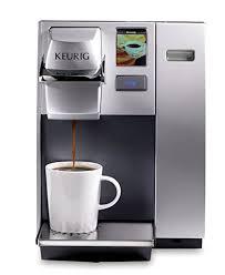 Keurig K155 Office Pro Single Cup Commercial K Pod Coffee Maker Silver