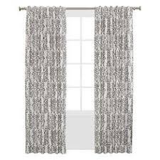 Nate Berkus Herringbone Curtains by Woven Curtain Panel Creamy Navy Nate Berkus Target House
