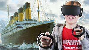 exploring the titanic shipwreck in virtual reality titanic vr