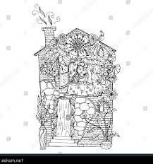 House Coloring Pages For Adults Fresh Inspiring Pink Rose Page Cat And Trend