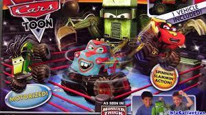 Cars Toon Monster Truck Mater Wrestling Ring Playset Disney Maters ...