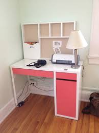 Ikea Study Desk With Hutch by Home Design Decorating Lovely Ikea Micke Desk For Study Or