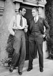 Mens Fashion C Gary Cooper On The Left Dapper Men