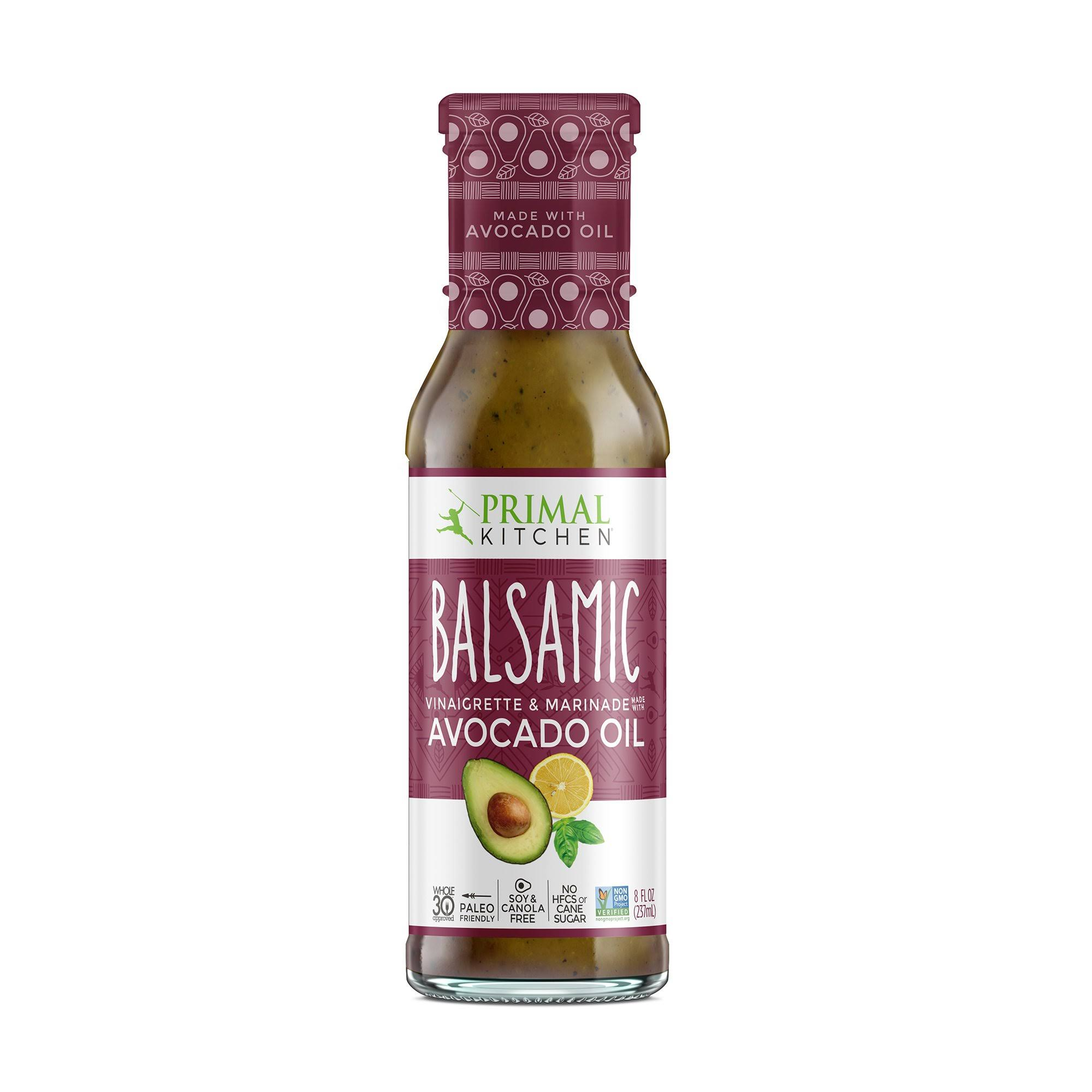 Primal Kitchen Balsamic Vinaigrette and Marinade - With Avocado Oil, 8oz