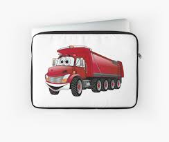 Red Dump Truck 10w Cartoon