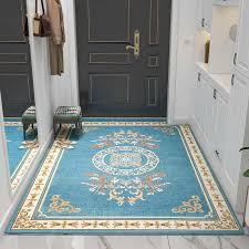 europa teppich blume eingang fußmatte anti rutsch küche teppich badezimmer jacquard teppiche teppich für zuhause wohnzimmer moderne schlafzimmer