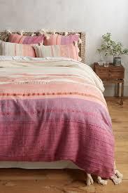 Pink Duvet Covers Boho & Linen Duvet Covers