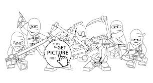 All Ninjago Coloring Pages For Kids Printable Free Lego And