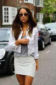 best 25 white jean jackets ideas on pinterest white denim dress