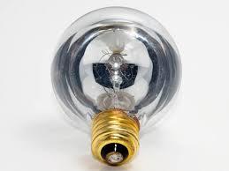 bulbrite 40w 120v g25 half mirror globe bulb e26 base 40g25hm