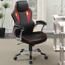 Coaster Furniture Rolling Racecar Video Game Chair ... 5 Best Gaming Chairs For The Serious Gamer Desino Chair Racing Style Home Office Ergonomic Swivel Rolling Computer With Headrest And Adjustable Lumbar Support White Bestmassage Pc Desk Arms Modern For Back Pain 360 Degree Rotation Wheels Height Recliner Budget Rlgear Every Shop Here Details About Seat High Pu Leather Designs Protector Viscologic Liberty Eertainment Video Game Backrest Adjustment Pillows Ewin Flash Xl Size Series Secretlab Are Rolling Out Their 20 Gaming Chairs