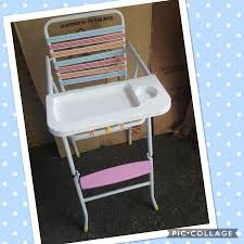 RETRO Baby High Chair 2pcs Silver Pu High Chair Set Peg Perego Siesta Ambiance High Chair With Eco Leatherwood Look Brown Padded Insert For The Simplex And Nino Cubic Caf Chairs Gun Metal Grey Banqueting Micuna Ovo City Luxe Brown Leatherette Harness Wooden Baby 3in1 Highchair Tray Amsco Dolls Circa 1950s Antiques Jack Lowhigh Child High Chair Restaurant Cafeteria Community Camping Vintage J Chein Doll Sunset Bar