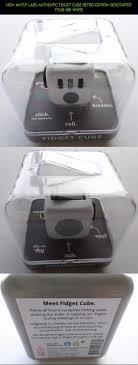 NEW Antsy Labs Authentic Fidget Cube Retro Edition Kickstarter FCUB 108 White Parts
