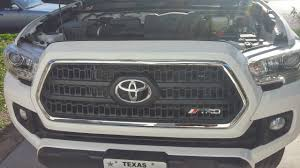 2016 Toyota Tacoma Plasti Dipped Trd Grill With Trd Logo | 2016 ...