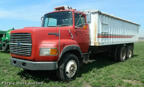 1990 Ford L9000 Grain Truck | Item K2582 | SOLD! May 3 Ag Eq... 2006 Intertional 7600 Farm Grain Truck For Sale 368535 Miles 1980 C70 Chevrolet Tandem Dickinson Equipment 1959 Ford 600 63551 Havre Mt 1986 Freightliner Cab Over Tandem Axle Grain Truck A160 Grain Truck For Sale Sold At Auction March 1967 Intertional Loadstar 1600 Medium Duty Trucks Used On Ruble Sales Lease Purchase New 1971 Gmc 7500 Non Cdl Up To 26000 Gvw Dumps 164 Ln Blue With Red Dump By Top Shelf Replicas Harvester Hauling