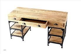 bureau en bois design bureau metal et bois bureau caisson bureau industriel lovely meubles