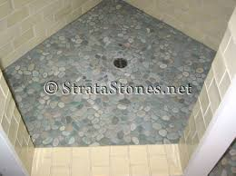 decoration shower pans for tile and green pebble tile shower pan