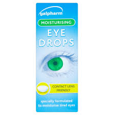 Galpharm Moisturising Eye Drops 10ml Sterling Pharmacy UK