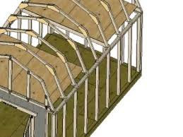 10 X 16 Shed Plans Gambrel by 10x16 Barn Shed Construction Secquence