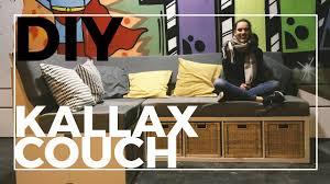 diy aus kallax regalen ikea hack sofa selber bauen