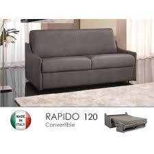 canape lit rapido convertible canapé lit 2 3 places convertible rapido 120cm microfibre