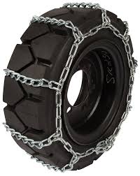 100 Truck Tire Chains 28X12X15 Forklift 8mm Link Hyster Lift Snow Ice