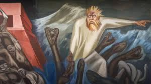 Jose Clemente Orozco Murales San Ildefonso by José Clemente Orozco The Epic Of American Civilization Hood Museum
