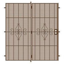 French Patio Doors Outswing Home Depot by Unique Home Designs 96 In X 80 In Su Casa Black Projection Mount