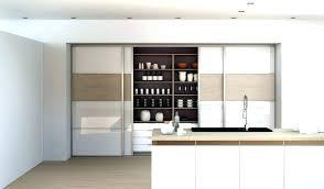 meuble de cuisine avec porte coulissante porte coulissante meuble cuisine de newsindo co
