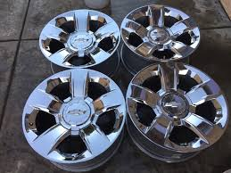 20 Inch Chrome Wheels Rims For GMC Sierra 1500 Yukon Denali EBay ...