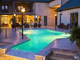 Glow In The Dark Mosaic Pool Tiles by In Ground Vs Above Ground Pools Hgtv