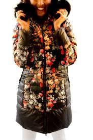 100 Krisana Vigus Printed Pelage Coat From California By Vigus