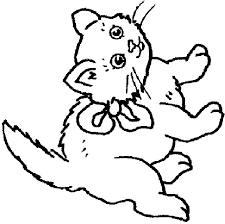 Cats And Kitten Coloring Pages 68