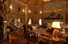 Great Room Rustic Living