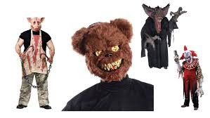 Scary Halloween Half Masks by Scary Halloween Costume Ideas