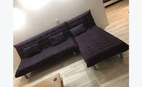 canapé d angle prune canapé d angle prune annonce meubles et décoration martin