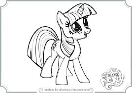 Mlp Eg Coloring Pages My Little Pony Girls Twilight Sparkle