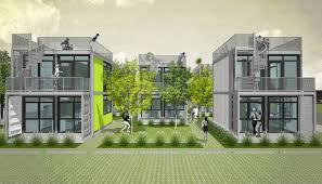 100 Shipping Container Apartments Foxworth Architecture Schnitzelburg Homes Housing