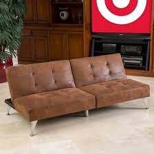 Target Room Essentials Convertible Sofa by Alston Click Clack Oversized Convertible 2 Piece Sofa Couch Brown