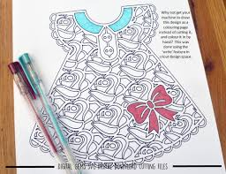 Rose Dress Paper Cut SVG DXF EPS Files