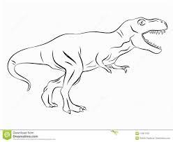Coloriage Dinosaure Tyrex Imprimer Plus Cool Jurassic Park Dinosaurs