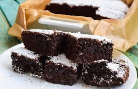saftige low carb schoko brownies mit schoko stückchen