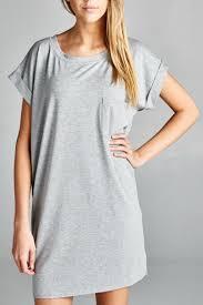 ellison apparel grey t shirt tunic from florida by momni u2014 shoptiques