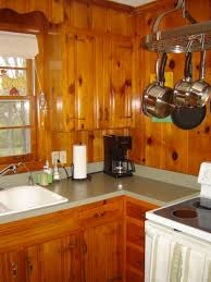 1950s Knotty Pine Kitchens