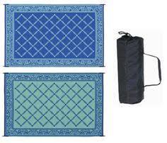 Outdoor Patio Mats 9x12 by Indoor Outdoor Rug 9x12 Reversible Rv Patio Mat Camping Carpet