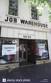 100 Warehouse In Melbourne Sign Of The Times The Job Goes Into Liquidation