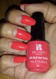 Red Carpet Manicure Led Light by Gel Luv A Gel Polish Blog Red Carpet Manicure
