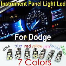 10x t5 led 7 colors led l car light 73 74 wedge led auto
